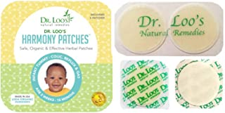 Dr. Loo's NATURAL REMEDIES Organic Herbal Sticker Patches for Colic, Reflux, Gas and Constipation for Infants 2 weeks-12 Months, 16 Patches
