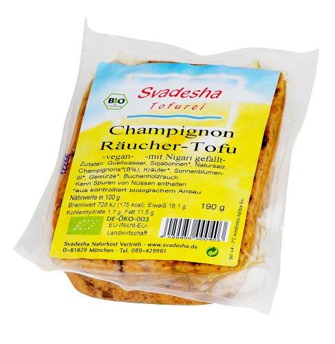 Svadesha Champignon - Räucher -Tofu 190 gr