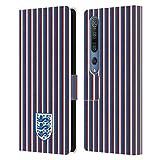 Head Case Designs sous Licence Officielle England National Football Team Rayures Crête Coque en Cuir à Portefeuille Compatible avec Xiaomi Mi 10 5G / Mi 10 Pro 5G