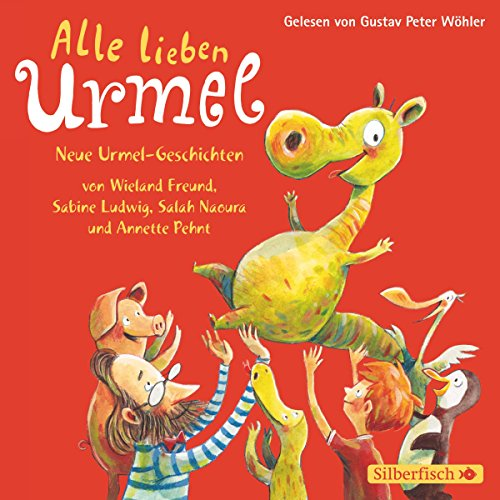 Alle lieben Urmel audiobook cover art