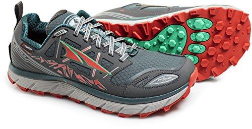ALTRA Women's A2653LOW-1 Lone Peak 3 Low Neoshell Trail Running Shoe, Gray/Blue - 7 M US