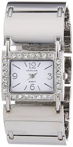 Excellanc Damen-Armbanduhr Analog Quarz Verschiedene Materialien 180522000025