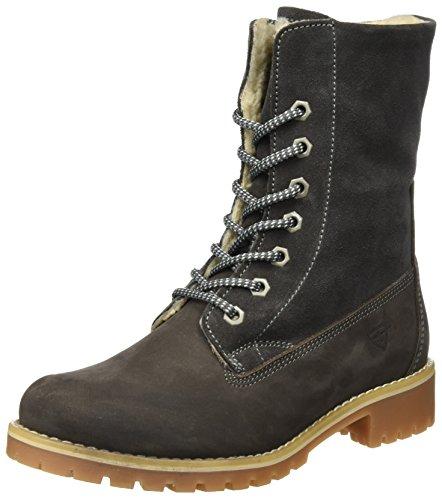 Tamaris Tamaris Damen 26443 Combat Boots, Grau (Anthracite), 37 EU