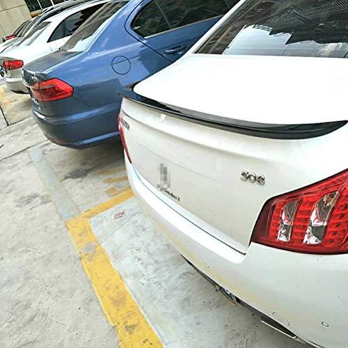 LIUJIN Accesorios De Alerón Trasero De ala De Labios De Maletero Abs Decoración Dedicada Adecuada para Peugeot 508 Spoiler 2011-2015