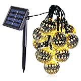 25Ft G40 Globe String Light with 25 Clear Bulbs, UL listed Commercial Outdoor String Lights Connectable, Backyard Patio Lights for Bistro Pergola Tents Market Cafe Gazebo Party Decor, Warm White