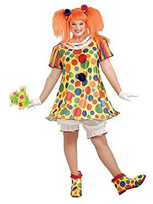 Forum Novelties Plus Size Giggles The Clown Costume