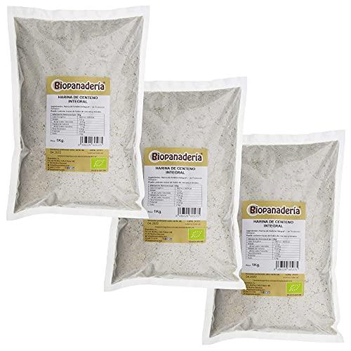 Biopanadería Harina de Centeno Integral Ecológica 3x1kg