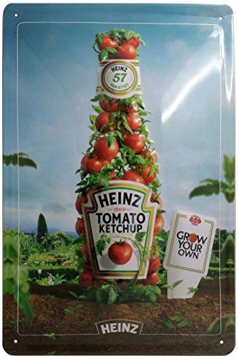 Ketchup metalen bord