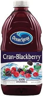 Ocean Spray Juice Drink, Cran-Blackberry, 64 Ounce Bottle (Pack of 8)