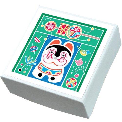 【鈴廣かまぼこ】こ・こ・ろ 青箱 張子の犬とオモチャ
