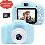 Gretex Gift Boxed Kids Camera, Digital Camera for Kids, Best Birthday Festival Gift for Age 3 4 5 6 7 8 9 10 Year Old Girls and Boys - Best Toys