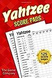 Yahtzee Score Pads: 125 Sheets for Scorekeeping - Yahtzee Score Cards with Size 6 x 9 inches (The Yahtzee Score Books)