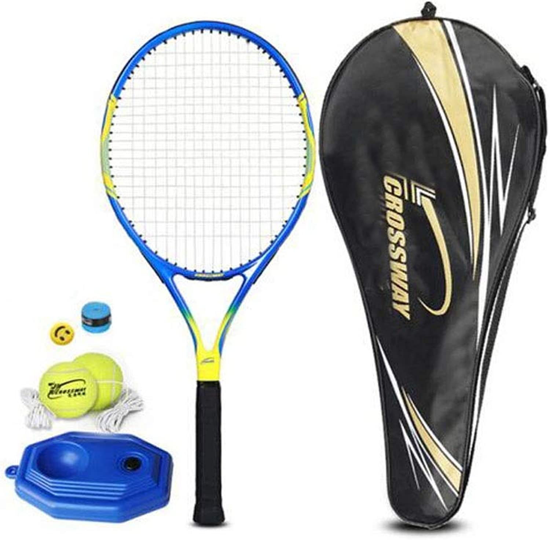 Tennis Racket, Suitable for Outdoor Sports and Fitness Tennis Racket Set, Beginner Single Training Tennis Racket