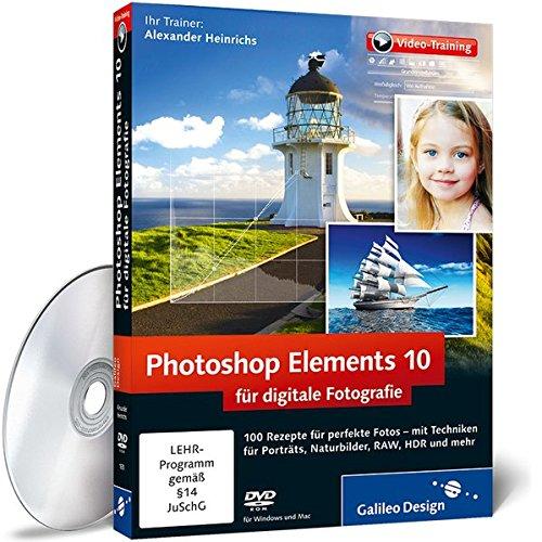 Preisvergleich Produktbild Photoshop Elements 10 für digitale Fotografie - Das Praxis-Training
