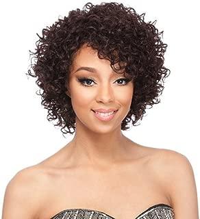 It's a Wig It's A Cap Weave Human Hair Wig HH CLAIRE (1B)