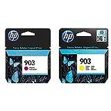 HP 903 T6L91AE, Magenta, Cartucho de Tinta Original, compatible con impresoras...