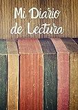 Cuaderno de lecturas | Mi Diario de lectura: Diario de libros leídos | Registro de lecturas | Regalo...
