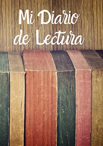 Cuaderno de lecturas   Mi Diario de lectura: Diario de libros leídos   Registro de lecturas   Regalo Para Los Amantes de libros con 100 fichas para completar, Formato A5.