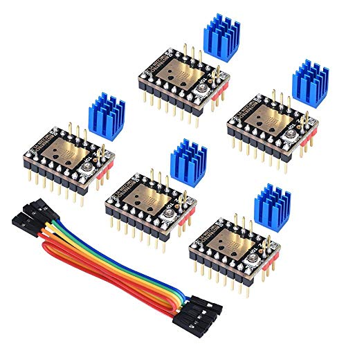 KINGPRINT TMC2209 V1.2 Stepper Motor Driver 2.8A Peak Driver 3D Printer Parts for SKR V1.3 SKR PRO V1.1