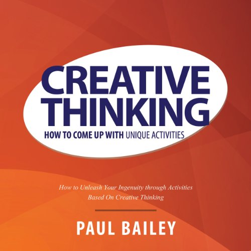 Creative Thinking audiobook cover art