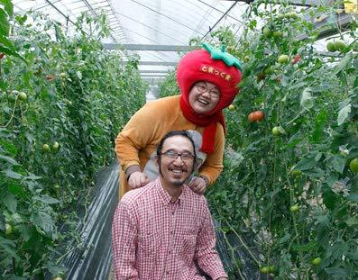 ファーム輝『とまっくまのフルーツトマトとミニトマトの詰め合わせセット(約1kg)』