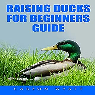 Raising Ducks for Beginners Guide cover art