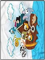カーペット 床暖房対応 ふわふわ ラグ 100*200 キッズルームガールズボーイズインドア寮保育園冒険船乗りコミック用漫画エリアラグフロアマットカーペット オールシーズン適 防ダニ 部屋