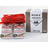 Sony MC60 Microcassette Tapes 30 Pack (10- 3 Packs)