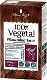 Schwarzkopf 100 Prozent Vegetal Mahagoni pflanzliche Haarfarbe