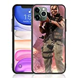 Amuoc iPhone 11 Pro Max Case [ 2020 Release Creative Case ] with Rocket Launcher 9H Tempered Glass Back Cover with TPU Frame Protective Case/Compatible with Apple iPhone 11 Pro Max 6.5 Inch