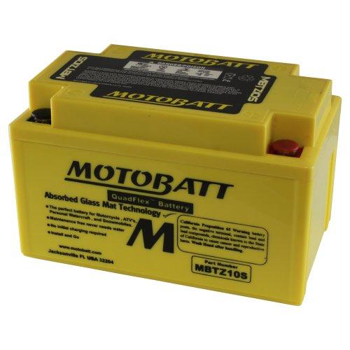 MOTOBATT mbtz10s (12V 8,6Amp) 140Cobre Factory Activado quadflex AGM Recargable