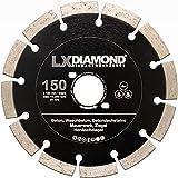 LXDIAMOND Disco diamantato professionale da 150 mm, per calcestruzzo, muratura, universale, adatto per fresatrice per finestre Bepo FFS 150 151, 150 mm