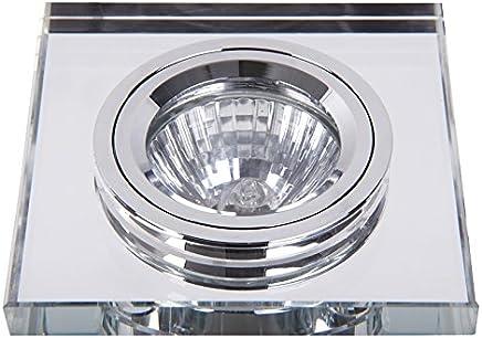 Focos y barras para focos MARILUX 4251220301040foco luz LED cristal 5,5W GU5.3blanco 4piezas Hogar y cocina