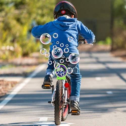 Bike Bubble Machine Durable Ultimate Fun para Bicicleta de Color Electric Bubble Machine