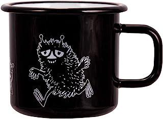 Moomin Mug Stinky, Black, Enamel, 370ml