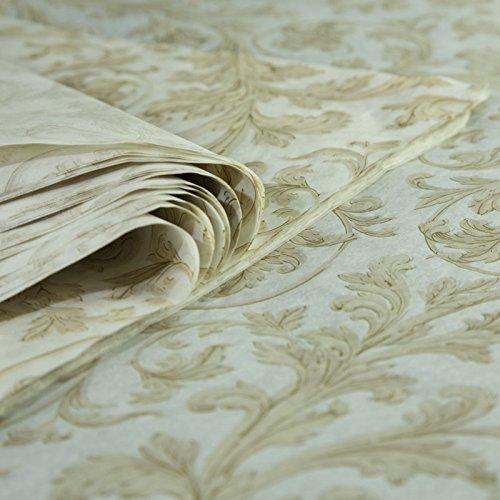 Hojas de papel de seda impresas, Precious Metal Elegance, 25fles de 25cm x 37cm, 18grs.