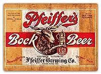 ファイファーズボックビール錫サイン壁の装飾金属ポスターレトロプラーク警告サインオフィスカフェクラブバーの工芸品