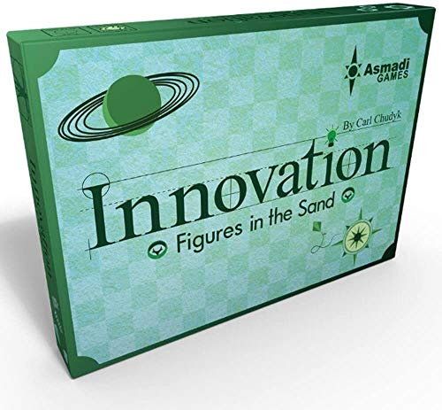 Alderac Entertainment Group AGL0152 Innovation: Figuren im Sand (dritte Auflage), Mehrfarbig