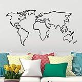 Nuevo diseño Estilo simple Mapa del mundo Vinilo global Art Decal Wallpaper...