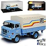 Ixo IFA W50 L LKW Blau Orwo Film DDR 1965-1990 1/43 Modell Auto