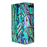 Skin Decal Vinyl Wrap for Smok T-Priv Vape Skins Stickers Cover/Abalone Ripples Green Blue Purple Shells