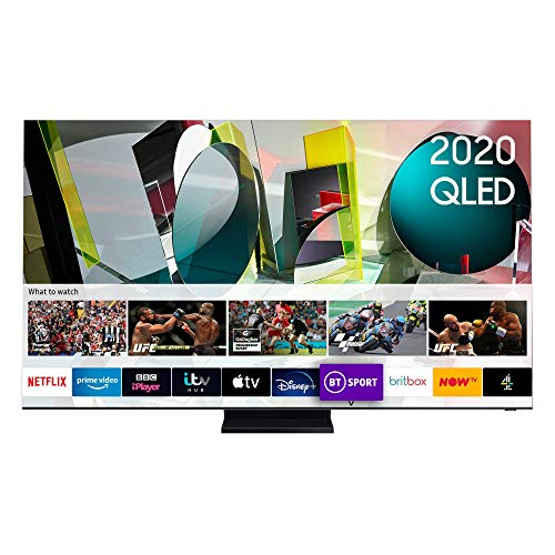 "Samsung 2020 65"" Q950T Flagship QLED 8K HDR 4000 Smart TV with Tizen OS,Q950TS"