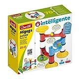 Quercetti-6502 Migoga Junior Basic Set-Circuito de canicas, Juegos de construcción, Multicolor (6502)
