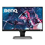 BenQ EW2480 - Monitor de 23.8' FullHD (1920x1080, 5ms, 75Hz, 3x HDMI, IPS, HDRi, FreeSync, Altavoces, Eye-care, Sensor Brillo Inteligente, Flicker-free, antireflejos, sin marco, VESA) - Gris