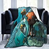 Shuhoneye Octo-Nauts Ultra Soft Cozy Warm Throw Lightweight Blanket for Home 80x60 Inch
