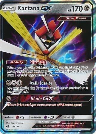 TPCI Pokémon - Kartana GX - 70/111 - Inglese - Crimson Invasion