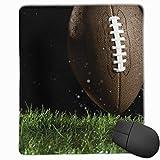 N\A Tapis de Souris Lisse, Rugby-0066898z-001 Tapis de Souris de Jeu Mobile Tapis de Souris de Travail Tapis de Bureau