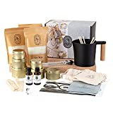 Luxury Candle Making Kit - Complete Candle Making Supplies to Create 6 Premium Scented Soy Candles