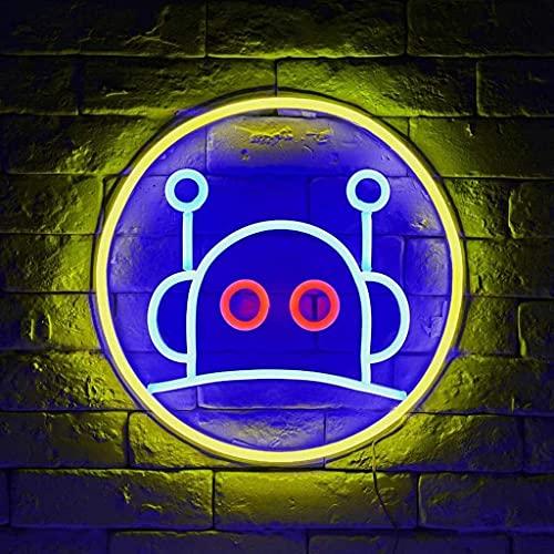 Decoración de Pared de Arte para el hogar Letreros de neón LED Luz de Noche de Noche alimentada por USB para Pared de habitación Dormitorio de niños Decoración de Bar para Fiesta de cumpleaños