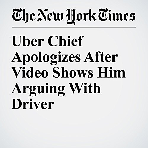 Uber Chief Apologizes After Video Shows Him Arguing With Driver copertina